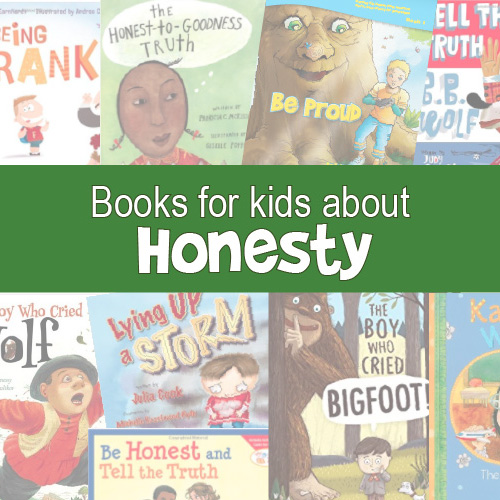 Books on Honesty for teaching social skills