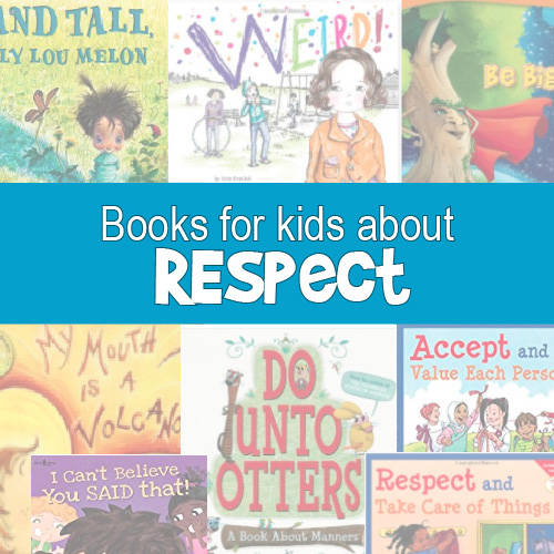 Books on Respect for teaching social skills