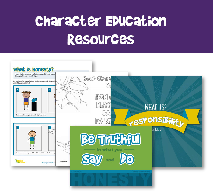 Character Education teaching resources for elementary school children