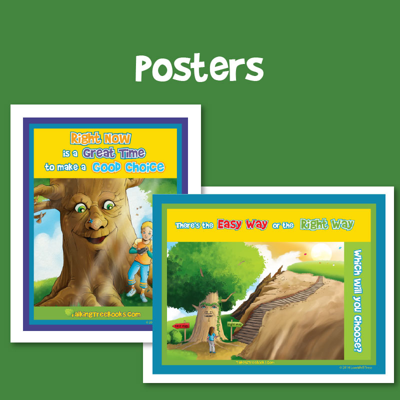 Free posters for social emotional learning and character education