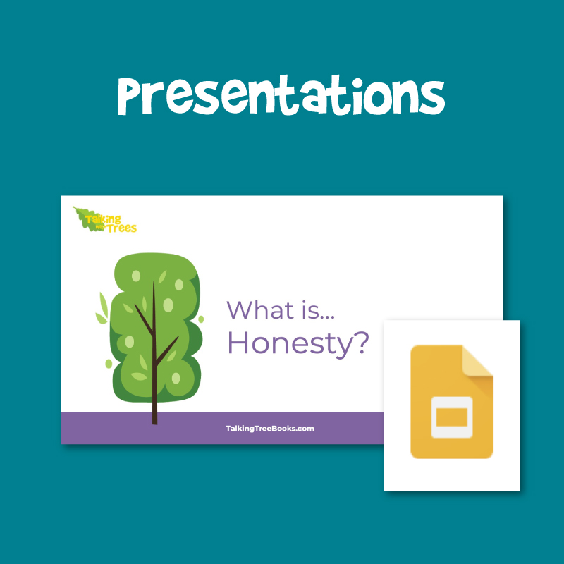 Free presentations / Google slides for social emotional learning and character education