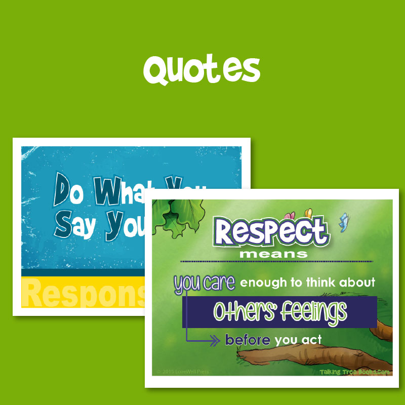 Free shareable quotes for social emotional learning and character education