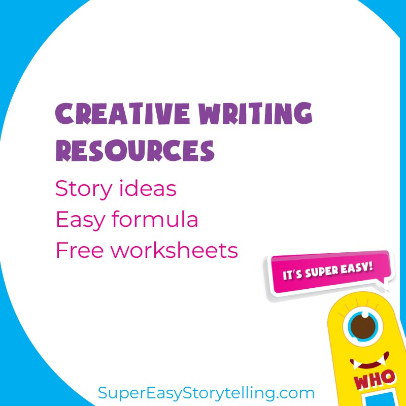 Super Easy Storytelling creative writing and storytelling teaching resources
