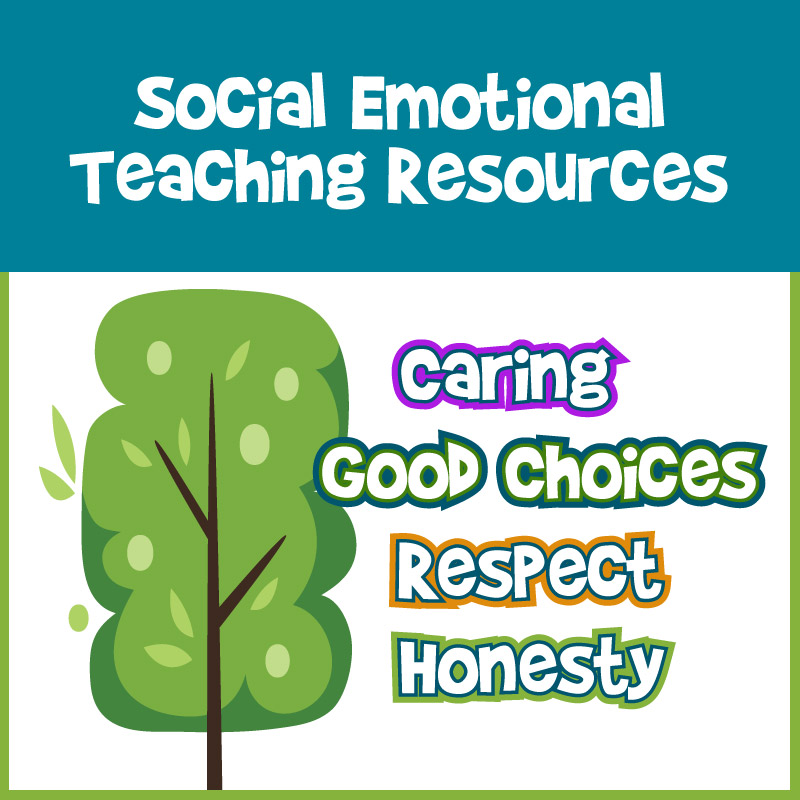 Social Emotional Learning Teaching Resources elementary school