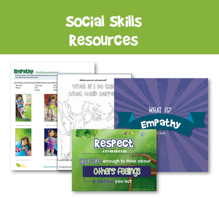 Social Skills teaching resources for elementary school children