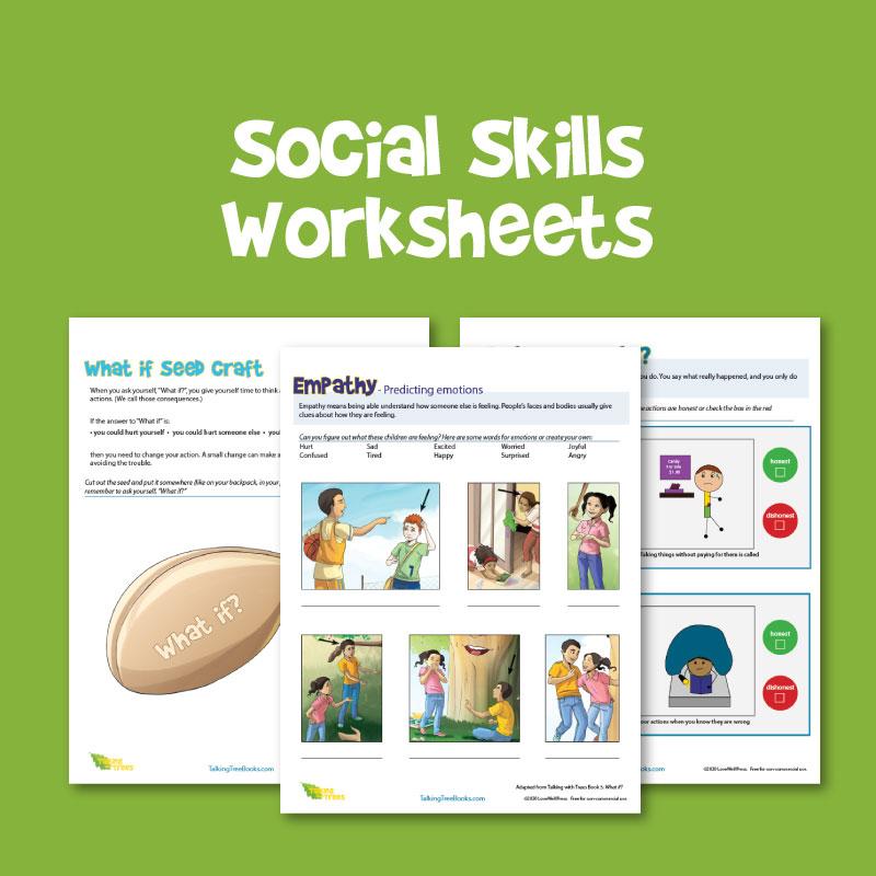 Free Social Skills Worksheets