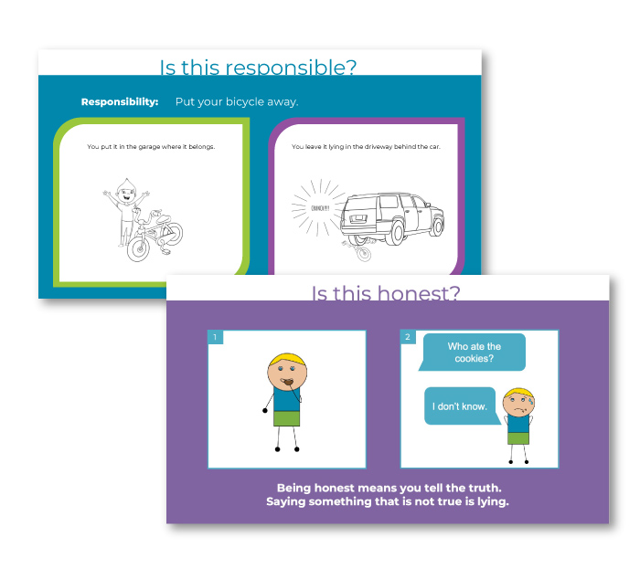 Social emotional learning presentations for elementary age children