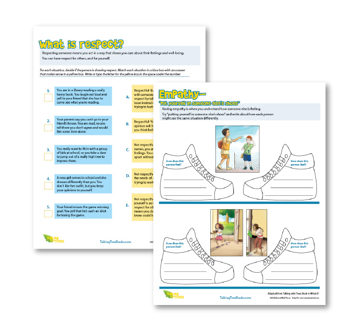 Social emotional learning worksheets for kids