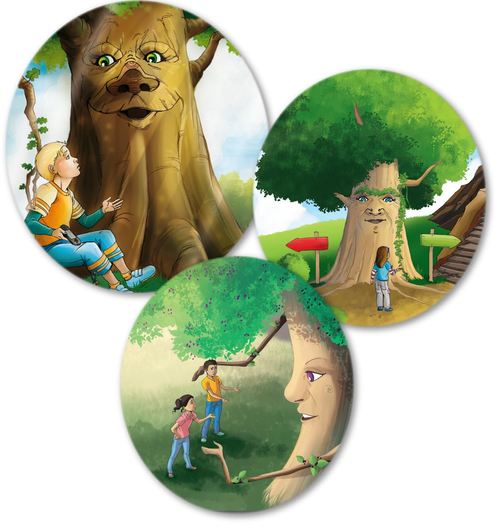 Talking With Trees Books And Teaching Resources You can download cartoon trees posters and flyers templates,cartoon trees backgrounds,banners,illustrations and graphics image in psd and vectors for free. talking with trees books and teaching