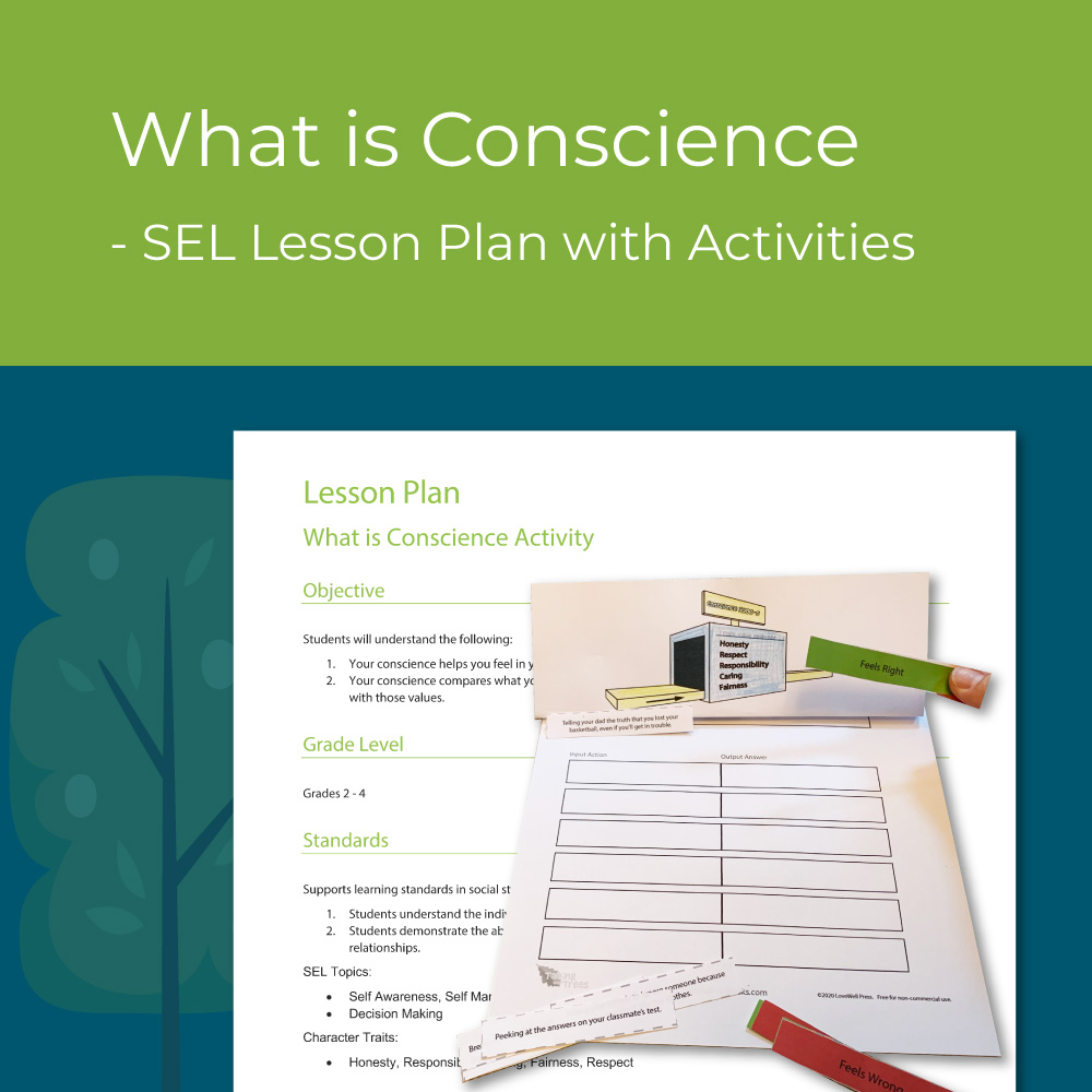 Conscience lesson plan for elementary social emotional learning