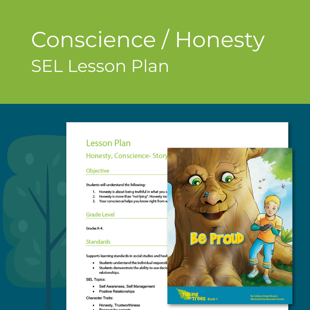 Honesty & Conscience lesson plan for elementary social emotional learning