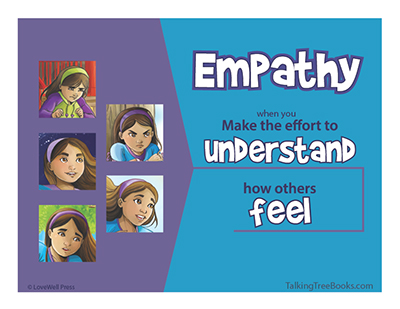 SEL Poster: Empathy means you make the effort to understand how others feel
