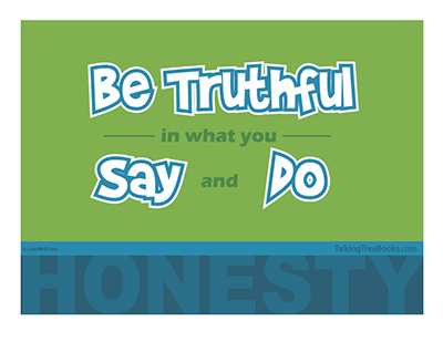 SEL Poster: Be truthful in what you say and do- Honesty