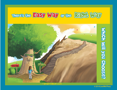 SEL Poster: There's the easy way and the right way