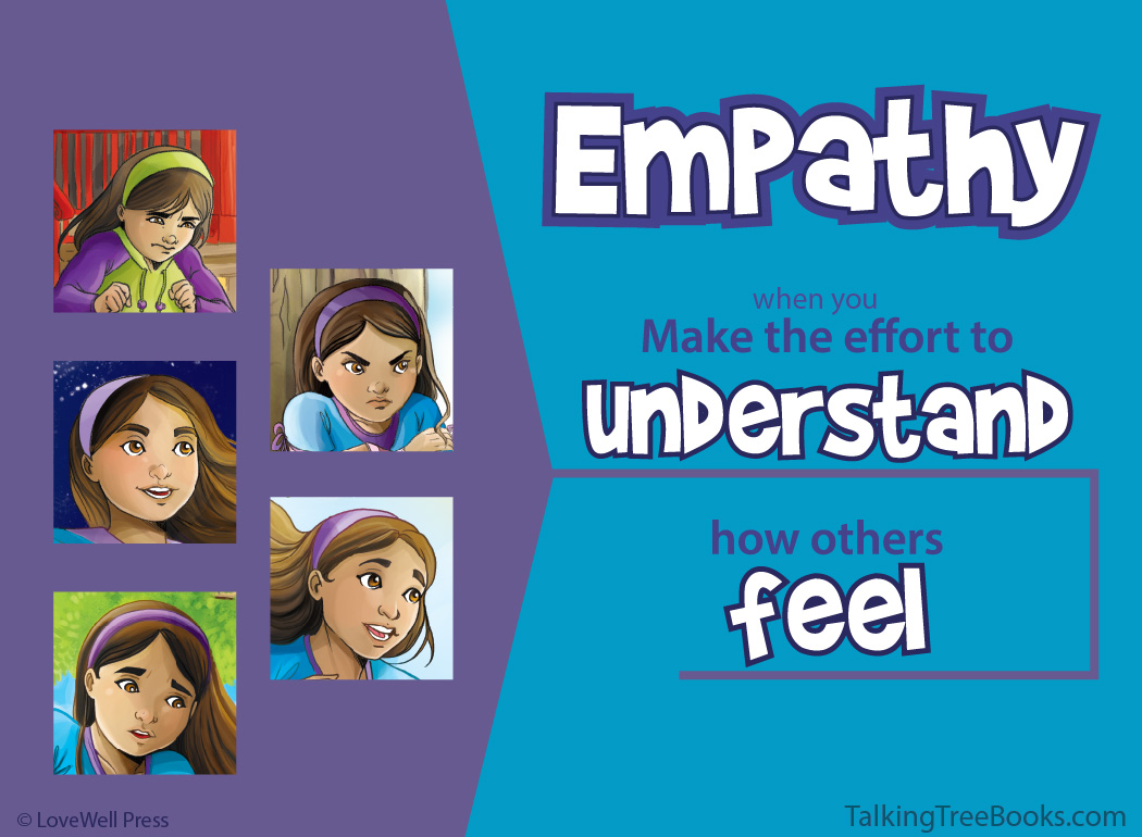 'Empathy: when you make the effort to understand...'- Positive quote for kids social emotional learning / character