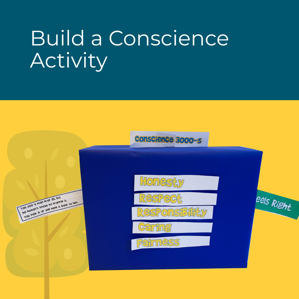 Build an interactive conscience- kids social emotional learning activity