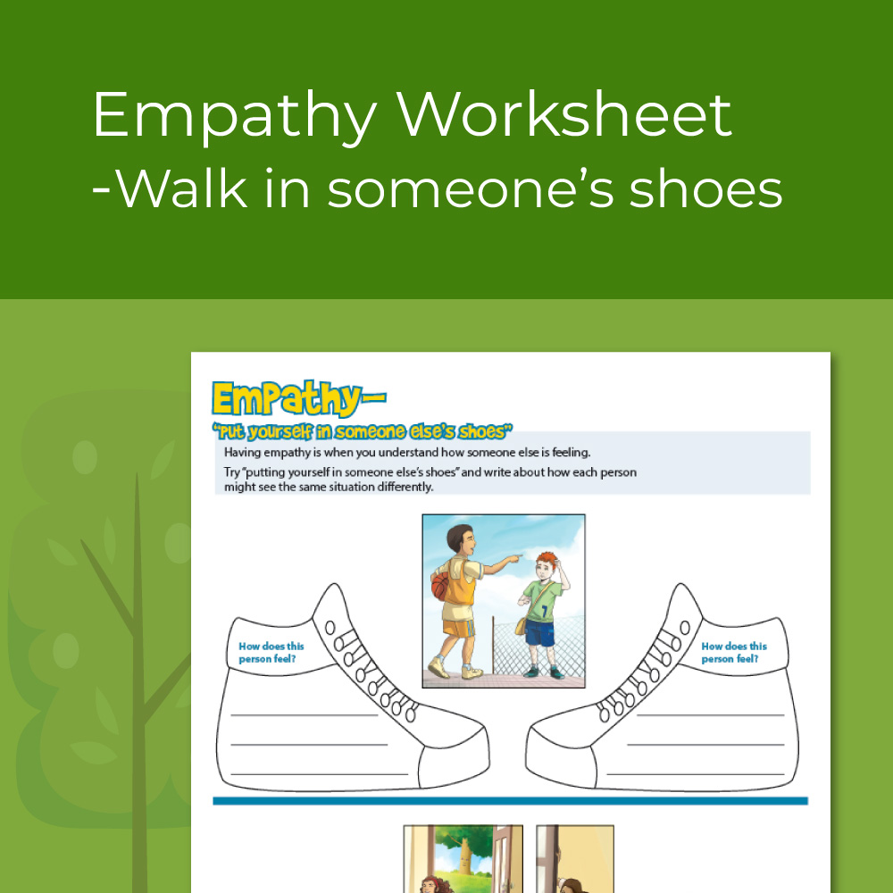 What is empathy worksheet- seeing other perspectives